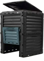 80 Gallon Chambers Composting Tumbler Aerating Outdoor Garden Large Compost Bin $64.99