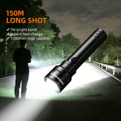 Super bright LED Tactical flashlight rechargeable Battery Torch Light C20 A $16.75