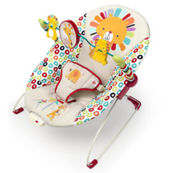 Playful pinwheels bouncer with vibrating seat for baby $33.15