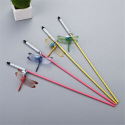 Cat Toys with Dragonfly Catcher Teaser Toys Training Funny Pet Cats Product O GA C $2.26
