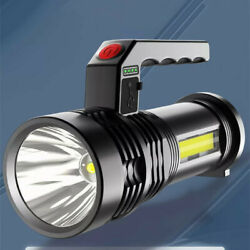 Super Bright 60000LM LED Tactical Flashlight With USB Rechargeable Battery $9.99