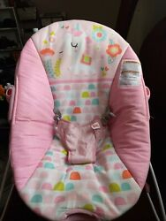 infant bouncer with toy bar in Unicorn theme $25.00