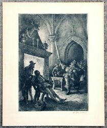 William Mark Young Signed Etching II $79.99