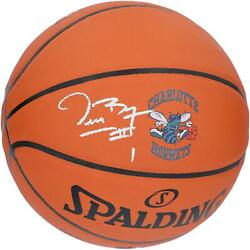 Muggsy Bogues Charlotte Hornets Autographed Spalding Indoor Outdoor Basketball $79.99
