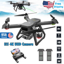DEERC D15 GPS RC Drones with 4K UHD EIS Anti Shake Camera Brushless Quadcopter $179.00