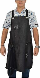 Professional Cooking Apron for BBQ Grill Chef Hobby Kitchen and Work Comfortable $68.50