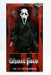 Mezco Toyz MDS Scream Roto Plush Ghost Face GhostFace Large Scale 18quot; Doll NEW $134.99