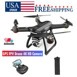 Holy Stone HS700D RC Drone With 4K HD Camera FPV GPS Quadcopter Brushless Motor $199.00