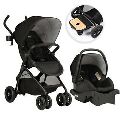 Evenflo Sibby Travel System w LiteMax Infant Car Seat Charcoal $189.99