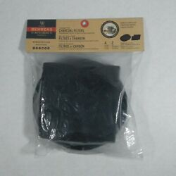 Behrens Charcoal Filters for Compost Pail 4 Count Kitchen Odor Compostable Set $7.95