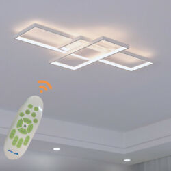 Dimmable Modern LED Ceiling Pendant light Acrylic Chandelier with Remote Control