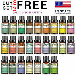 10 mL Essential Oils Pure and Natural Therapeutic Grade Oil Free Shipping $6.99