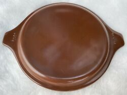 Pyrex Brown 6quot; Round Replacement Lid 20 C 9 For Casserole Dish Vintage $16.00