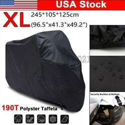 Standard Street Bike Motorcycle XL Cover Scooter All Weather Dust UV Protection $23.78