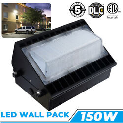 Outdoor Lighting 150W LED Wall Pack Light 5000K Commercial Security Lamp IP65