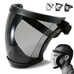 US Full Face Anti fog Shield Super Protective Head Cover Transparent Safety Mask