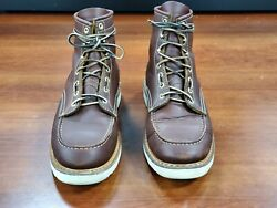 White#x27;s Boots Perry moc toe 6 inch top in red dog leather size:10.5D $230.00