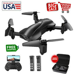 Holy Stone HS165 RC Drone with 2K HD Camera Foldable RC Quadcopter GPS Case $159.00