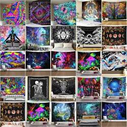 Large Psychedelic Tapestry Wall Hanging Blanket Artistic Mat Home Room Decors $12.91