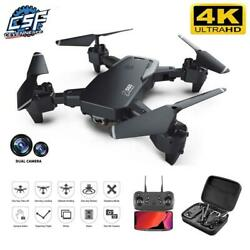 2021 New Drone 4k Profession Hd Wide Angle Camera Wifi Fpv Drone Helicopter Toy $119.99