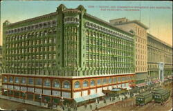 San FranciscoCA Pacific And Commercial Buildings And Emporium Mitchell Postcard