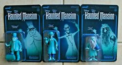 DISNEY HAUNTED MANSION SUPER7 REACTION EZRA GUS amp; PHINEAS FIGURES UNPUNCHED $49.99