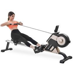 Magnetic Rowing Machine Indoor Rower with Magnetic Tension System LED Monitor $349.00