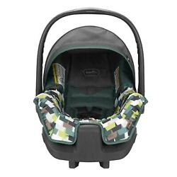 Evenflo Nurture Lightweight Infant Baby Car Seat With Canopy Geometric Green $69.35