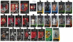 Star Wars The Black Series 6quot; Action Figures 73 Variations to Choose 9 17 2021 $36.95