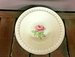 Taylor Smith Taylor China Pink Rose Center With Gold Trim Serving Bowl $6.00