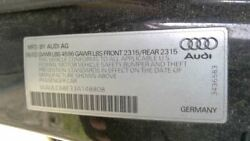 Console Front Floor Station Wgn Thru VIN 400000 Fits 02 05 AUDI A4 3563444 1 $145.00