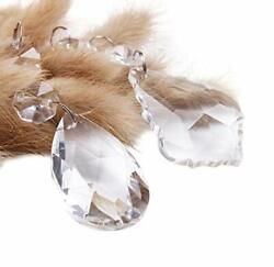 Antique Vintage Chandelier Crystals Glass Beads Prisms Replacement Parts $17.49