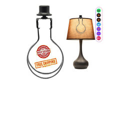 Lamp Shade Holder Light Bulb Clip On Lampshade Adapter Finial Levellers Spring $10.59
