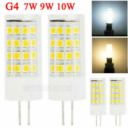 Dimmable G4 LED Bulbs 7W 10W Corn Lights Replace Halogen Lamp Cool Warm White $5.24