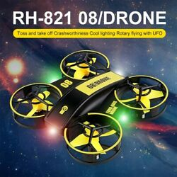 2021 Drone Air Quadcopter 3D Flip Mini RC Headless Helicopter Kids Toy Gift $39.89