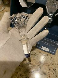 Waterford Marquis Lead Crystal Wine Stopper $30.00