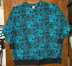 Vintage Top Notch Colorful Sweater 4XL Made In USA $14.99