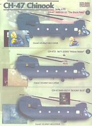 Print Scale Decals 1 72 BOEING CH 47 CHINOOK Helicopter $13.99
