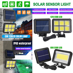 Outdoor Commercial Solar Street LED Wall Light IP65 Waterproof Dusk to Dawn Lamp