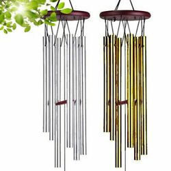 Wind Chimes Outdoor Large Deep Tone 33 Inches Memorial Wind Chimes with 6 Tubes $11.99
