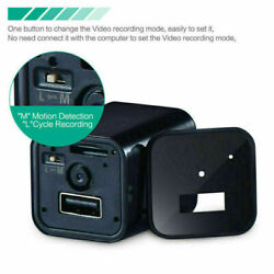 USB Charger 1080P Mini Wifi Camera Wall Charger Plug Home Security DVR Recorder $27.89