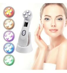 Reverse Aging 5 in 1 LED Skin Tightening RF Radio Frequency Facial Machine $24.99