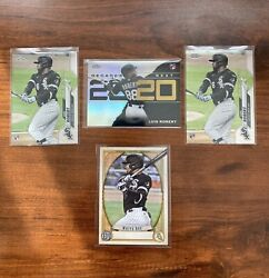 Lot Of 4 2020 21 Luis Robert RC and No Name Plate Error White Sox $45.00