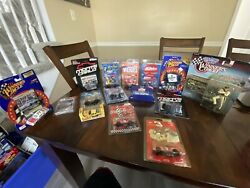 Dale Earnhardt LOT of 13 die casts Winners Circle Figurine and Stickers Cards $20.00