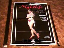 NIGHTLIFE ORIG MOVIE POSTER SEXPLOITATION