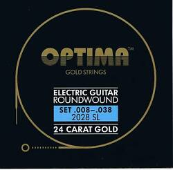 OptimaMaxima  24K Gold Electric Strings 8-38