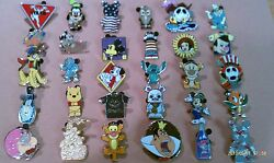 Disney Trading Pins Lot of 25 No Duplicates LE HM Rack Cast Free Shipping $13.95
