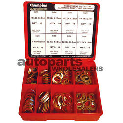 CHAMPION ALUMINIUM DRAIN  SUMP PLUG WASHERS ASSORTMENT KIT (100 Pieces) $114.03