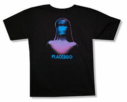 Placebo Purple Girl Meds Album Art Black T Shirt New Official Soft $19.99