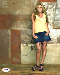 Cassie Scerbo SIGNED 8x10 Photo Sharknado Make It Break It PSA DNA AUTOGRAPHED $65.00
